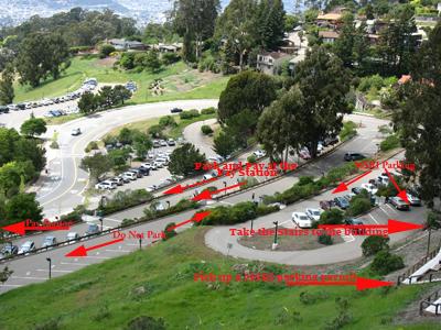 msri parking lot