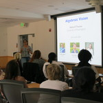 Dr. Rekha Thomas introduces students to research in Algebraic Vision